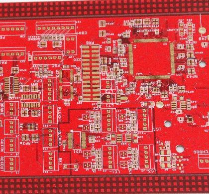 6层绿油埋盲孔PCB板