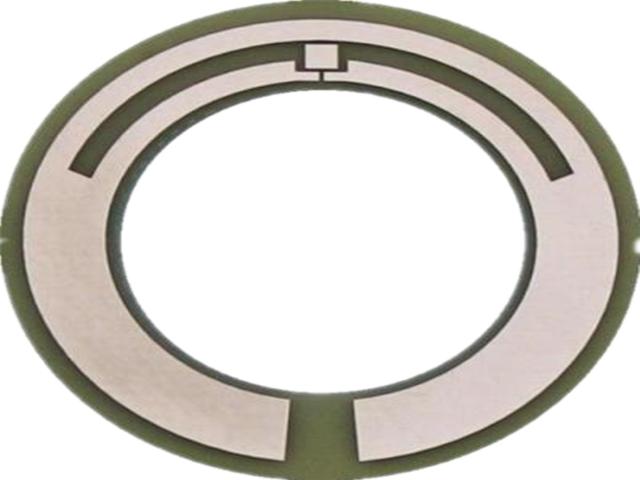 超薄0.1MM超高频耳标PCB超高频牛耳标PCB