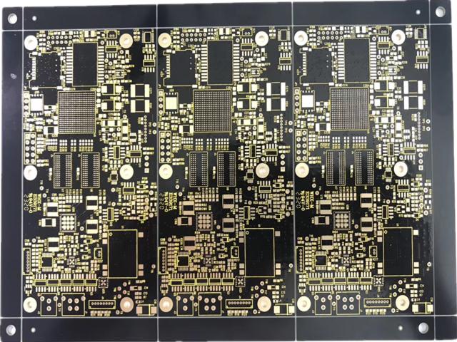 12层黑油沉金PCB