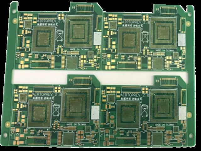 6层绿油埋盲孔PCB板_副本
