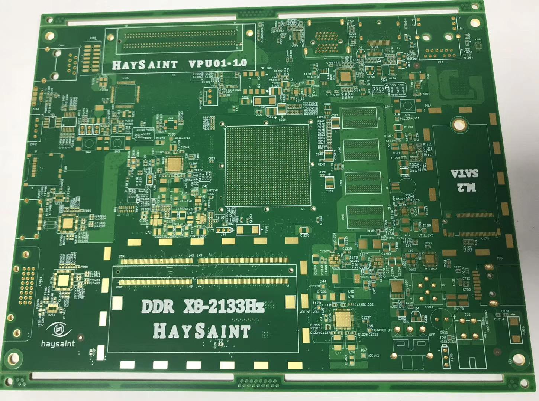 6层2阶多层PCB